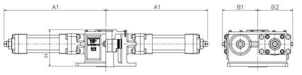 HC-series Hydraulic actuator|HISAKA WORKS,LTD  Valve Division